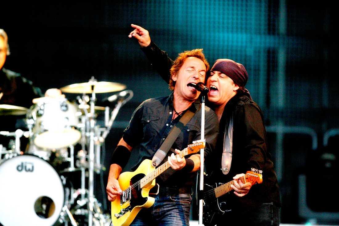 Stefan Löfven listar Bruce Springsteen på Ullevi 2008 som den bästa konsert han varit på.