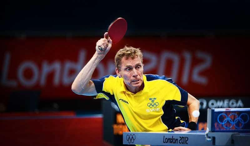 Jörgen Persson under OS i London förra året.