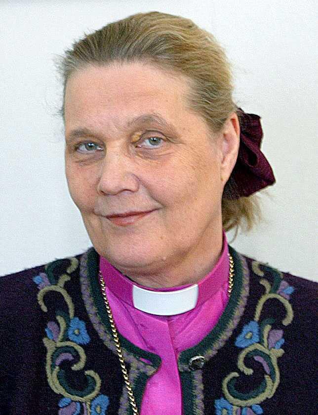 Biskop Caroline Krook.