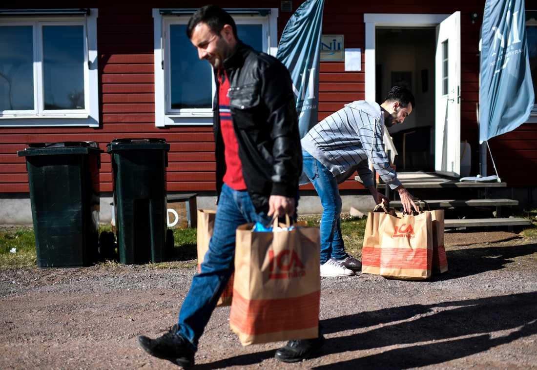 I Hultsfred är arbetslösheten hög bland de nyanlända, enligt kommunalrådet. (Personerna på bilden har ingen koppling till artikeln). Arkivbild.