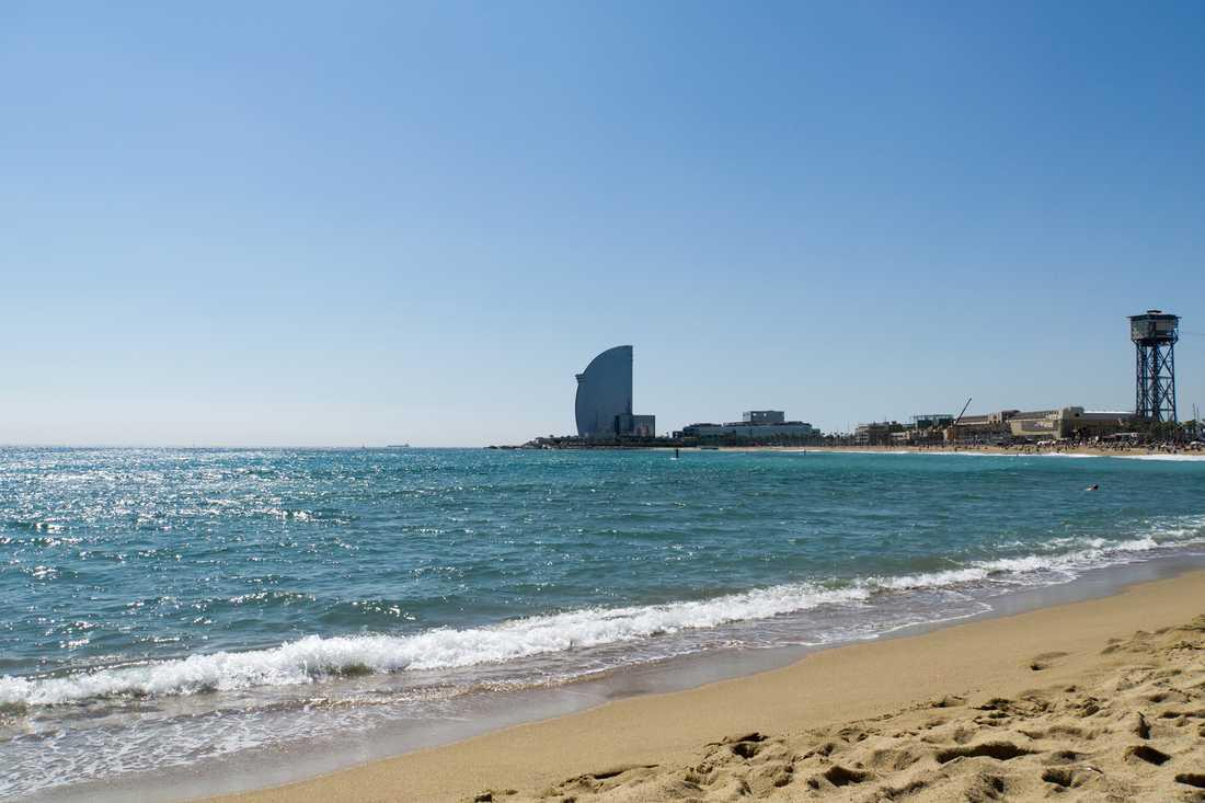 Barcelona är en populär destination för kryssningar i Medelhavet.
