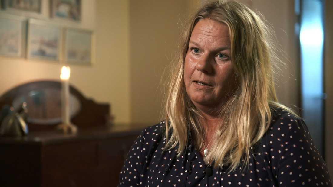 Camilla Malmström, mamma till mördade Nella Olander, 28.