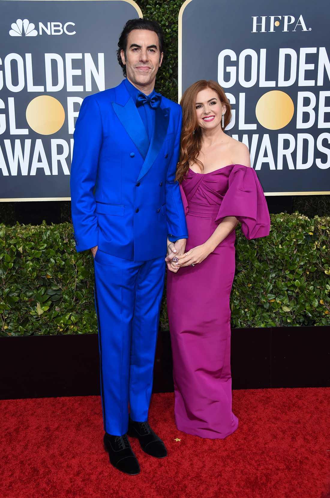 Sacha Baron Cohen och Isla Fisher