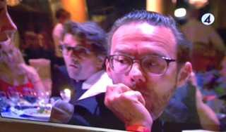 Jocke Berg i Kent gick på det stora kommersiella kalaset och tackade genom att vägra svara TV4:s Tilde de Paula.