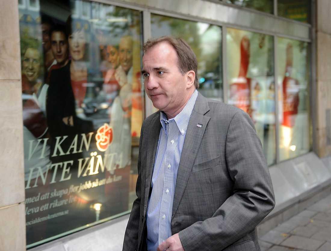 Stefan Löfven, 54, ordförande i IF Metall: Mer landsbygdsbunden och lite mer fackvänster än Lundby-Wedin.