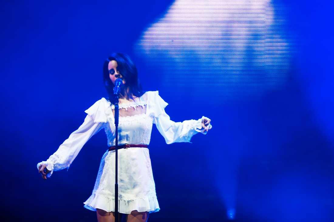 Lana Del Rey på Way Out West förra sommaren.