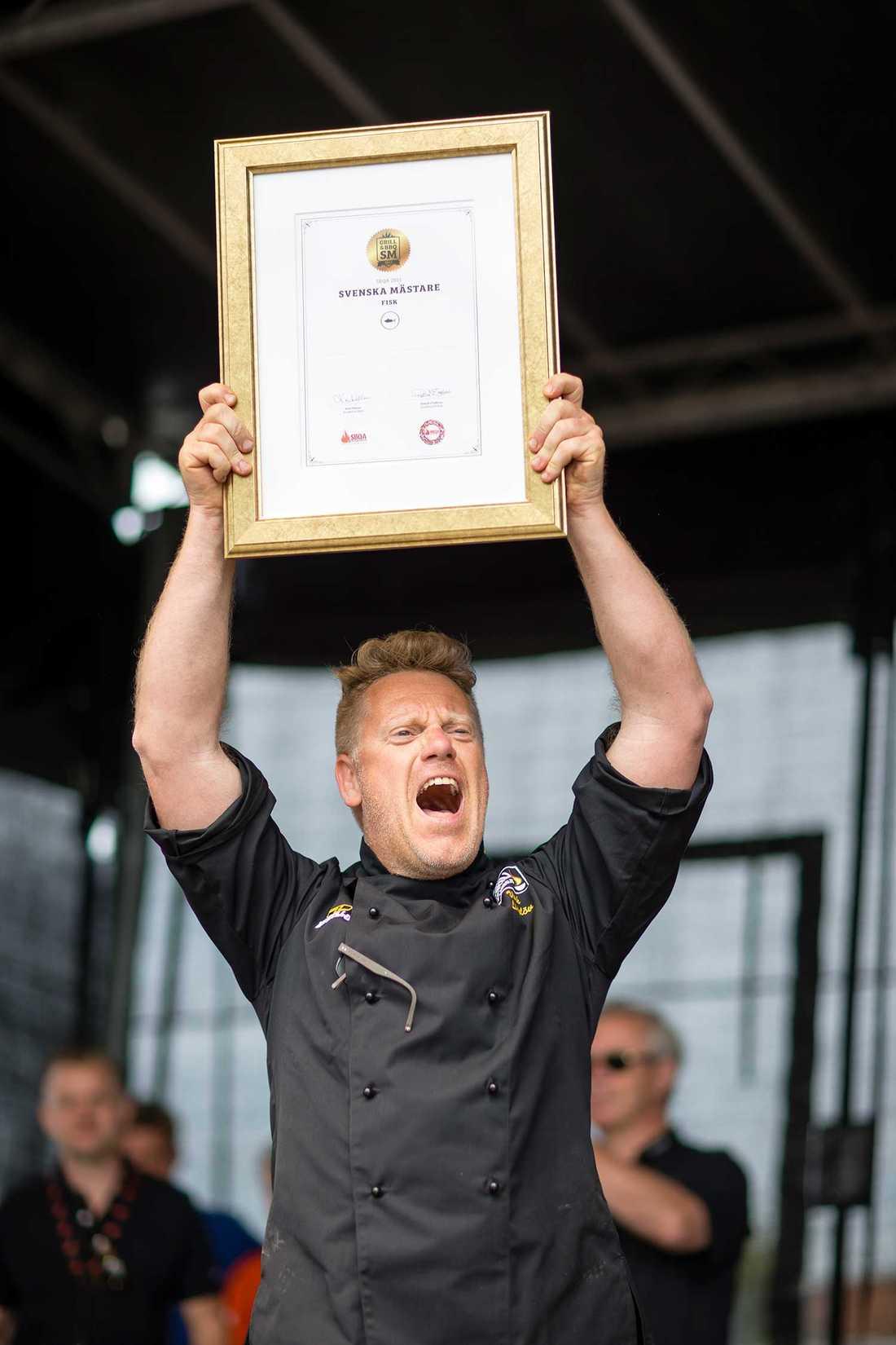 Svenska mästare Under Grill-VM på Heden i Göteborg avgörs även svenska och nordiska mästerskapen.
