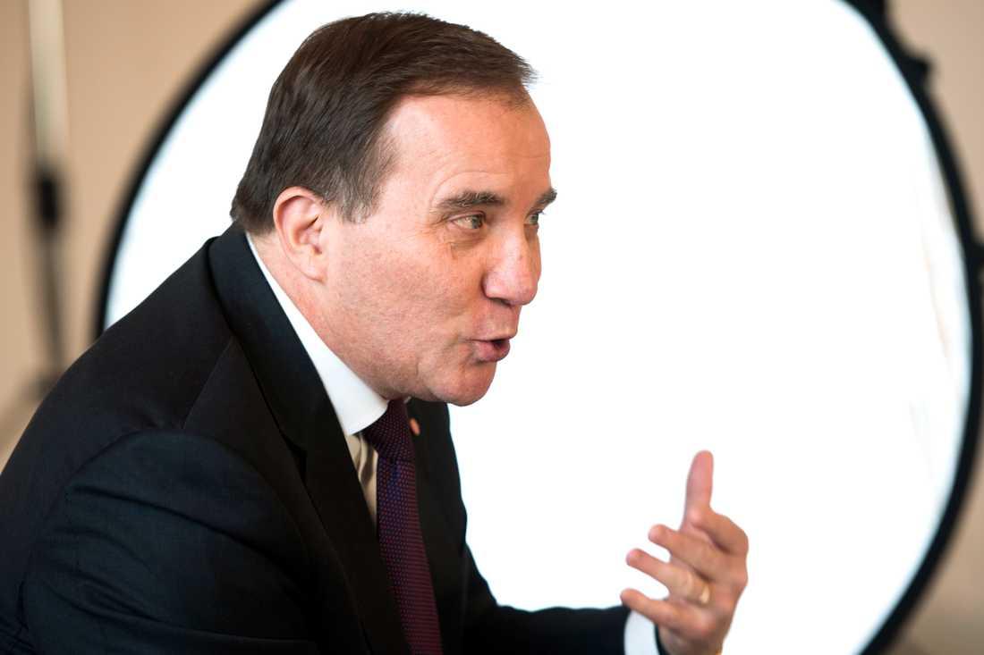 Statsminister Stefan Löfven (S) är kritisk till hur Svenskt Näringslivs ordförande Leif Östling uttalat sig om att betala skatt.