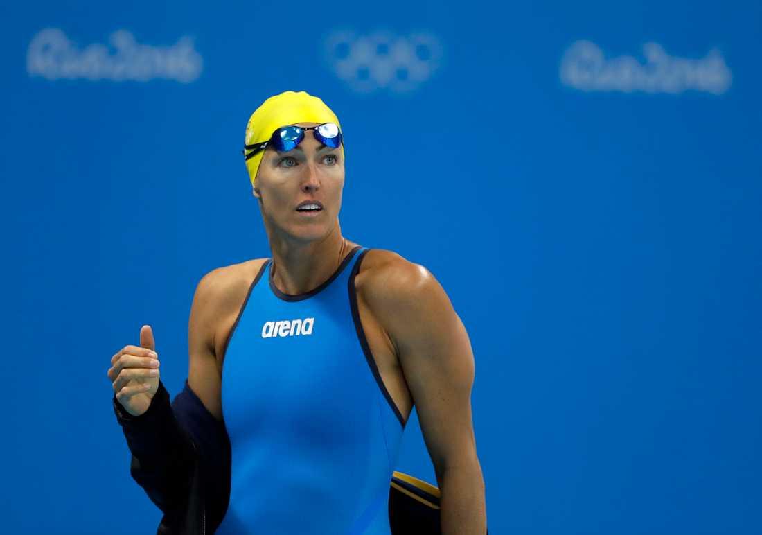 Therese Alshammar under sommarolympiaden 2016.