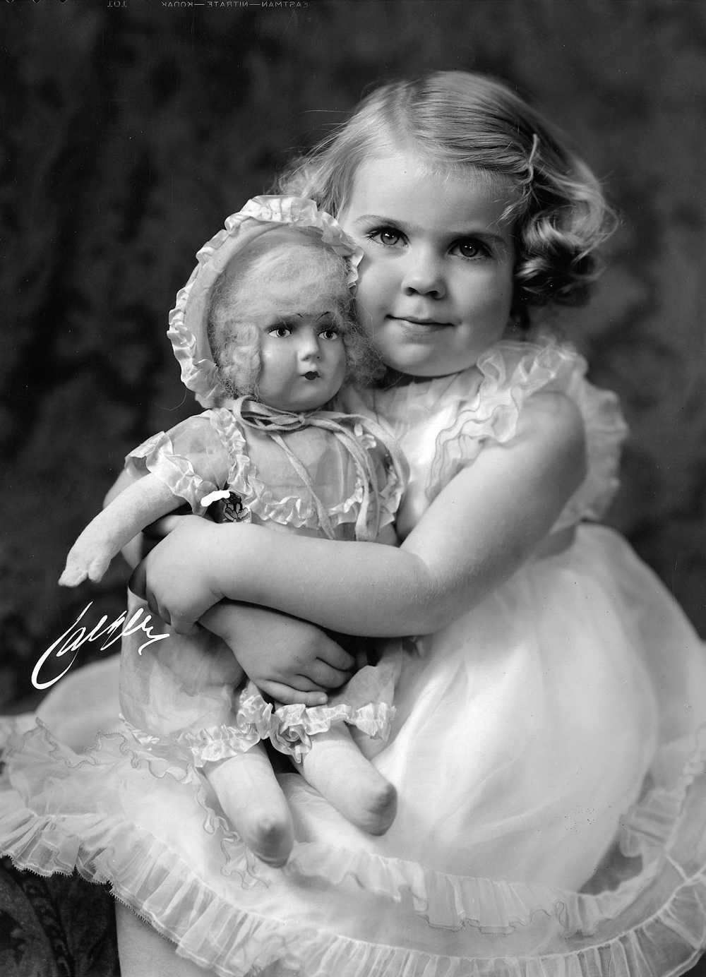 Prinsessan Margaretha som barn.