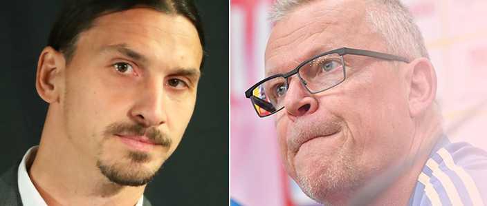 Zlatan och Janne.