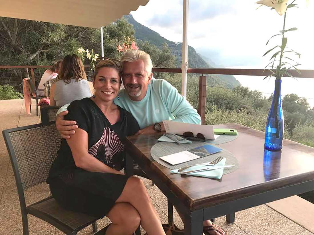 """Ann Wilson, 49 och Dejan Bork, 50, har det """"riktigt bra"""" ihop."""