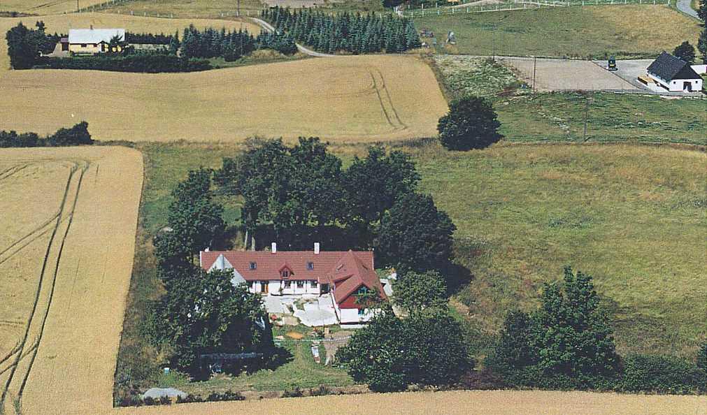 Julian Wysoczanskis gård utanför Ystad.