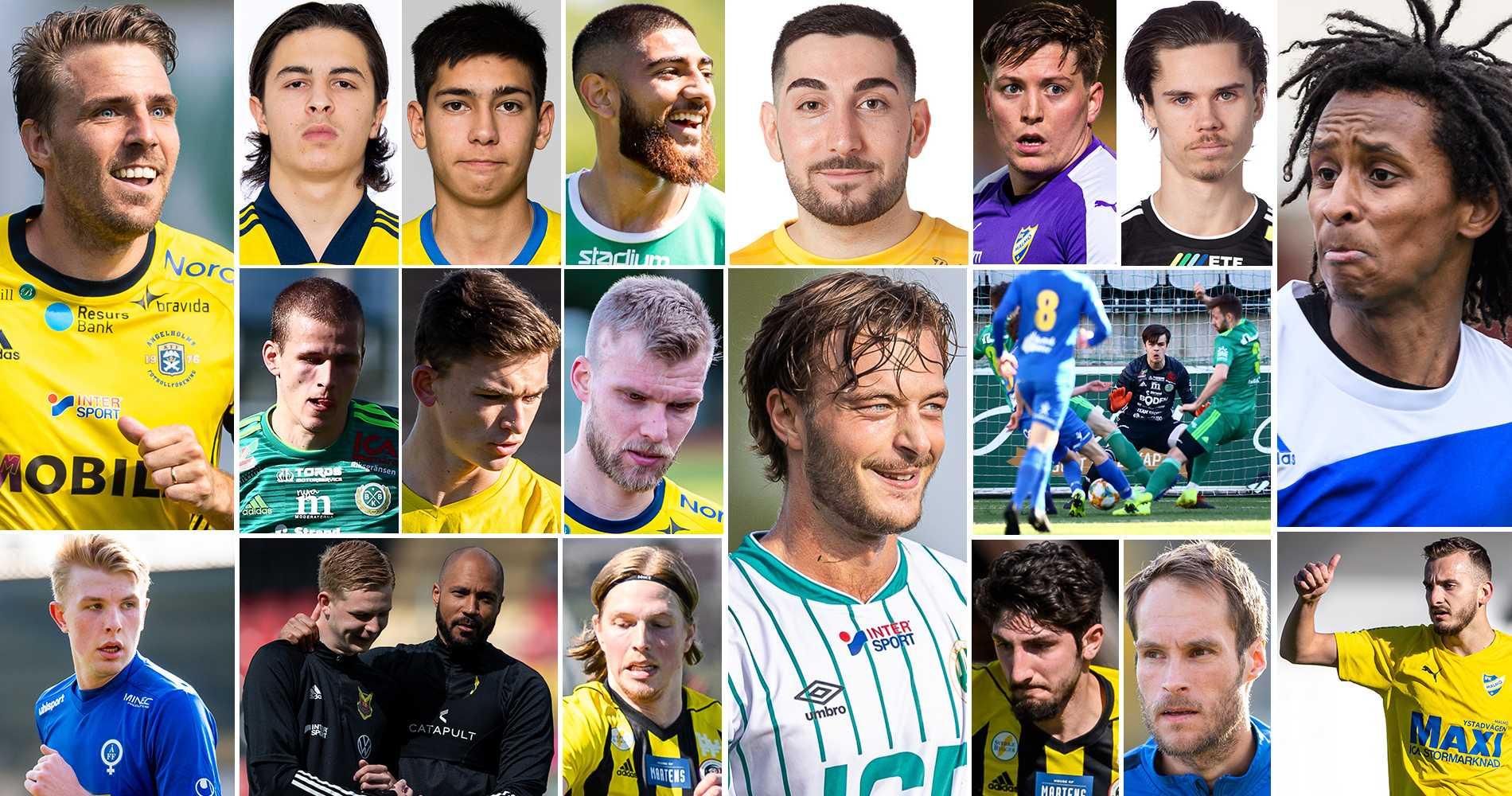 Rankning: 50 bästa spelarna i division 2