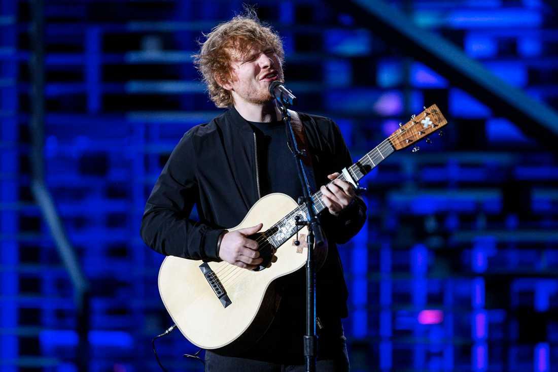 """Ed Sheeran, aktuell med """"Divide"""" hoppas ha blivit bättre med åren"""