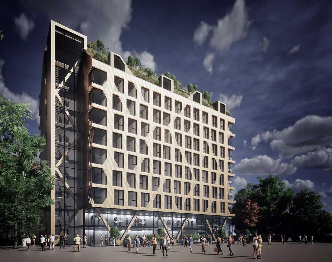 640 studentbostäder ska byggas i Västra Hamnen.
