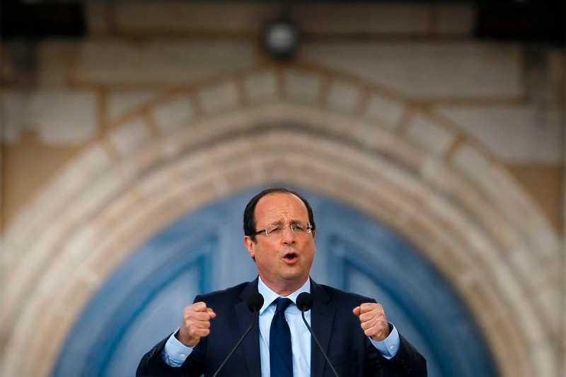 François Hollande, socialisterna.