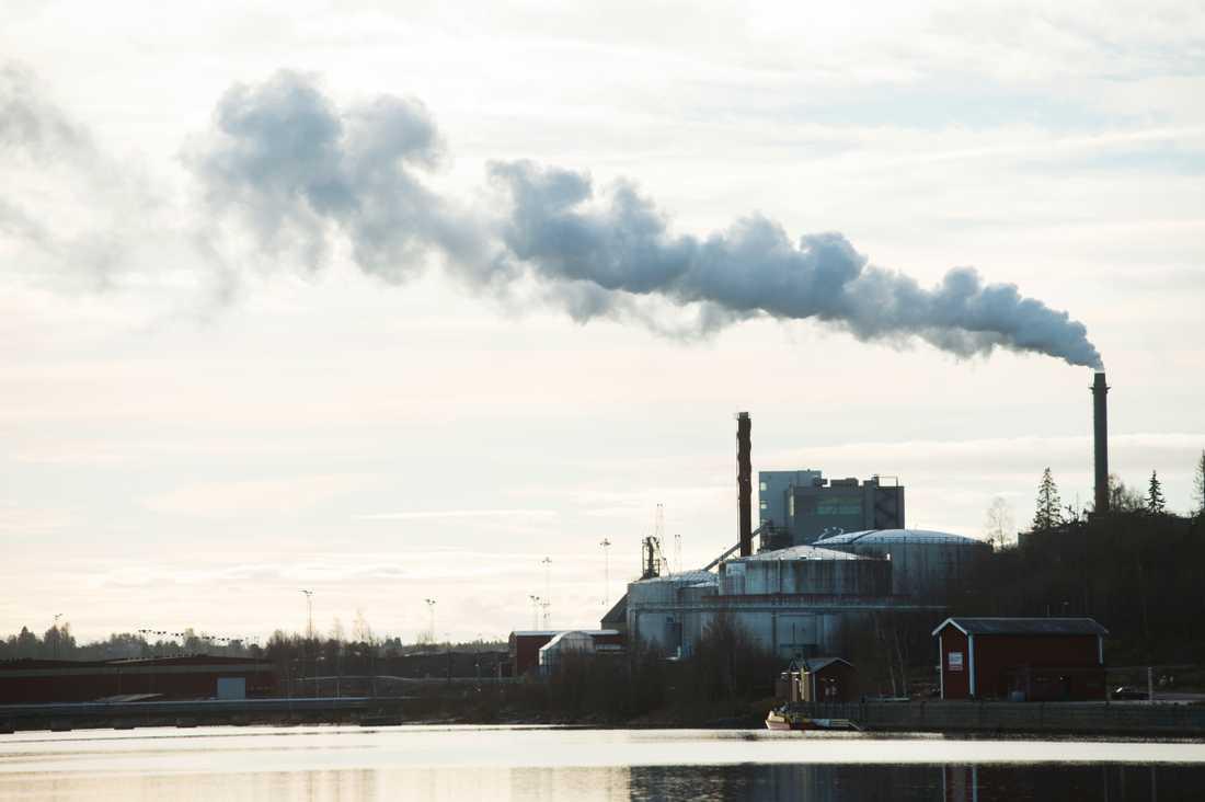 Luftförorening orsakar sju miljoner dödsfall årligen. Arkivbild.