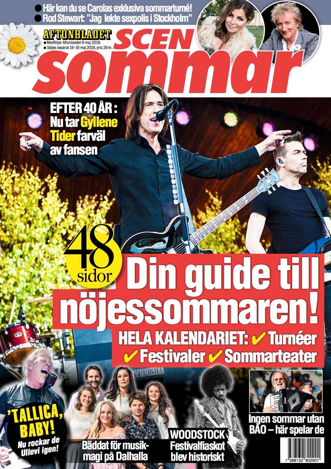 Magasinet Scensommar följer med Aftonbladet 9 maj.