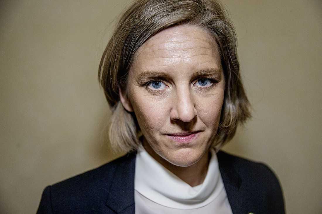 Karolina Skog (MP), miljöminister. Betyg: 2,0 (Ny)