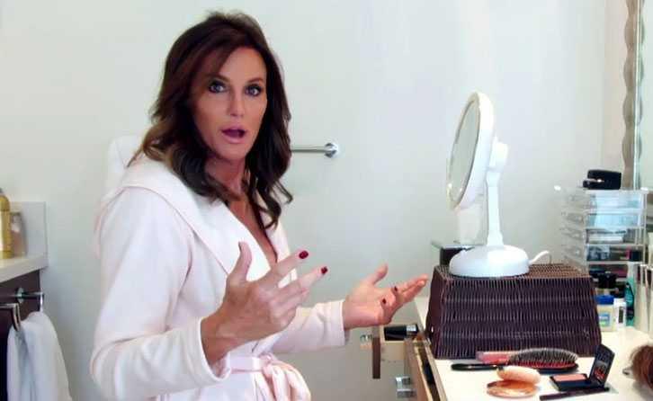 """Caitlyn Jenner har i sommar jobbat med att markandsföra sin nya realityserie """"I am Cait""""."""