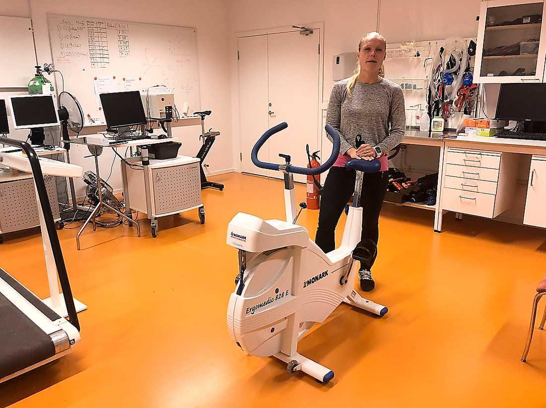 Elin Ekblom Bak, högskolelektor  i idrottsvetenskap på GIH.