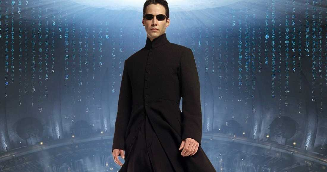 Keanu Reeves i rollen som Neo