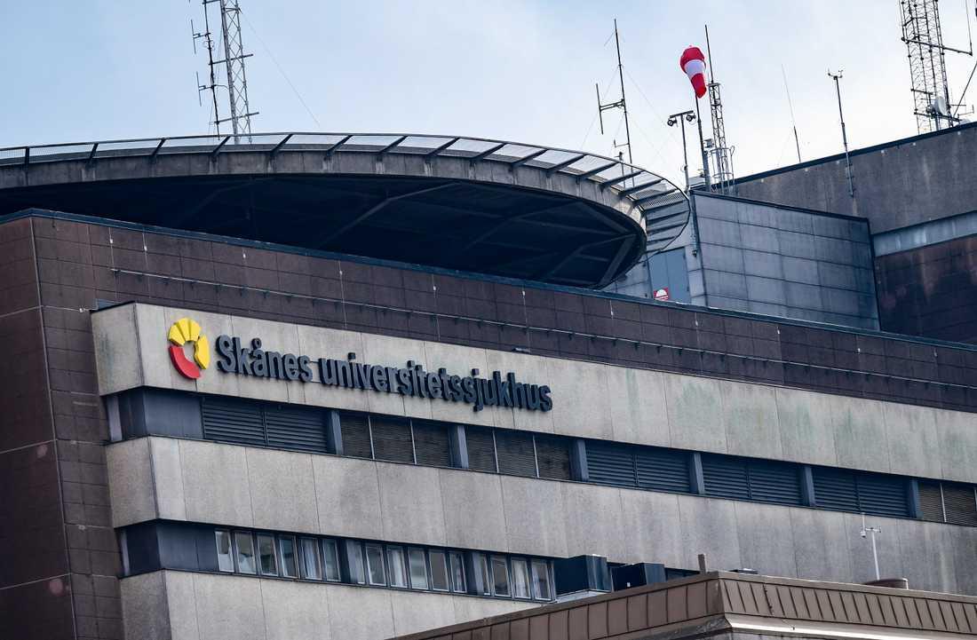 Skånes Universitetssjukhus ( SUS ) i Lund. Arkivbild.