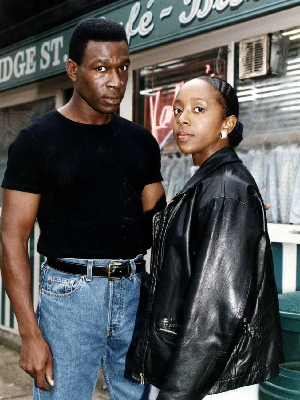 Sian Blake spelade Frankie Pierre i EastEnders mellan 1996 och 1997