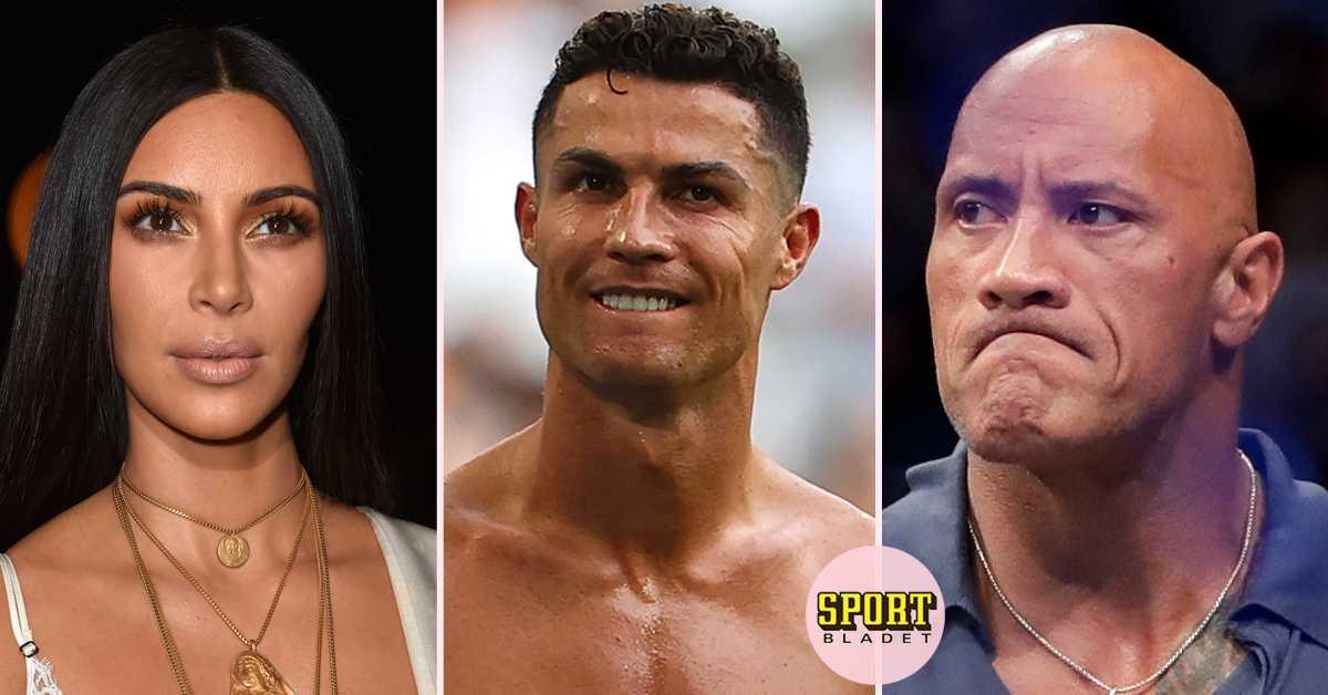 Ronaldo tjänar mest av kändisarna på Instagram