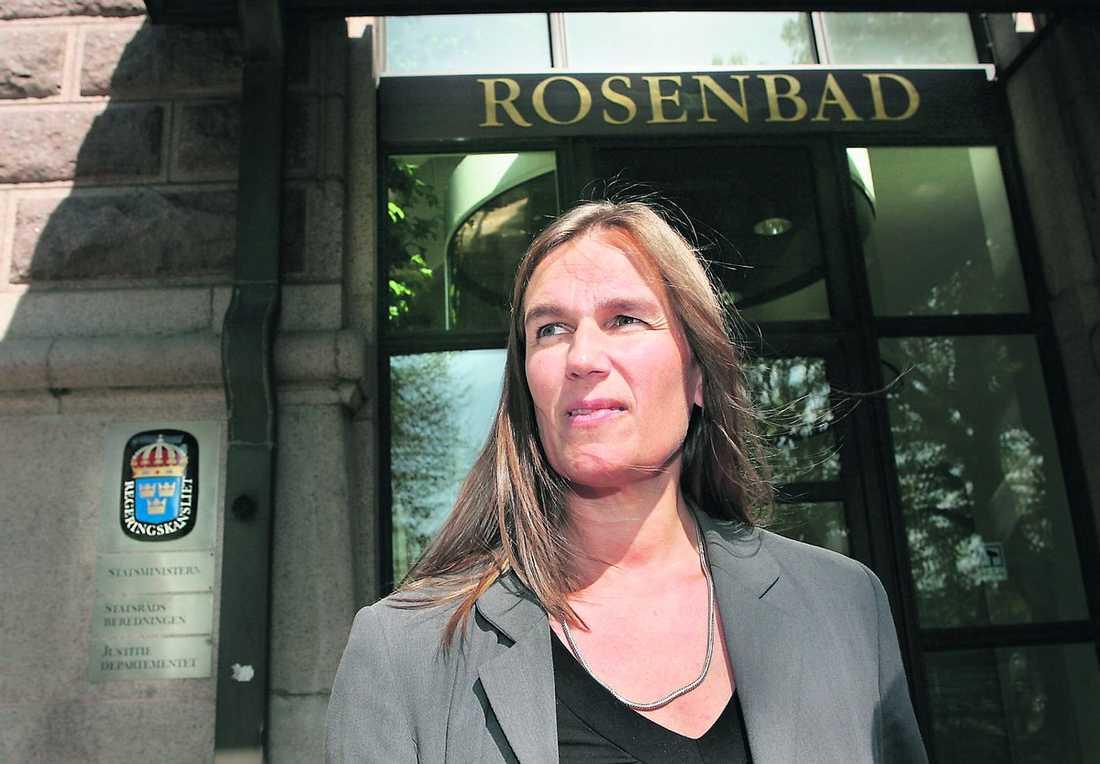 inget trick Mona Sahlins presschef Anna Helsén säger att utfrågningen i SVT inte var något planerat pr-trick från Socialdemokraterna.