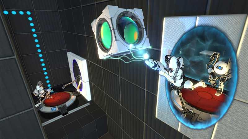 """ETT DRAMA I TRE AKTER """"Portal 2"""" är betydligt mer omfångsrikt än sin tajta föregångare. Här finns till och med en separat kampanj för co-op."""