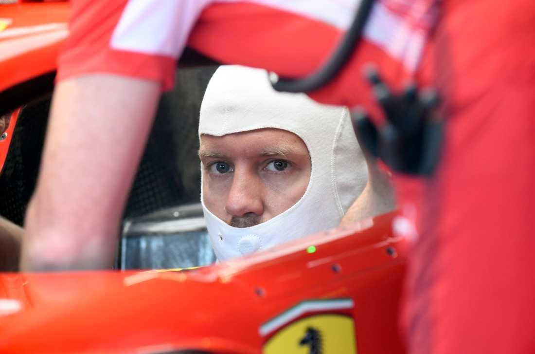 Laddad Sebastian Vettel.