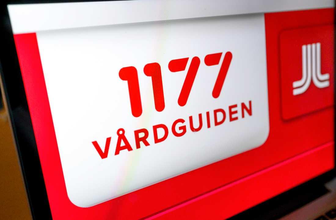 Miljoner samtal till 1177 Vårdguiden låg oskyddade på nätet i flera år. Arkivbild.