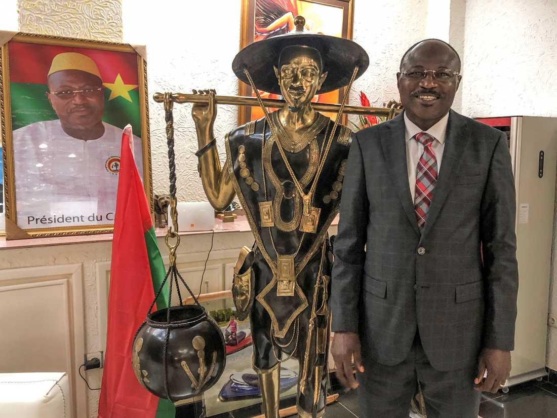 Presidentkandidaten Eddie Komboigo.