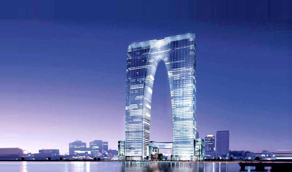 Kina har spenderbyxorna på – skyskrapan i Suzhou går loss på inte mindre än 4,5 miljarder kronor.