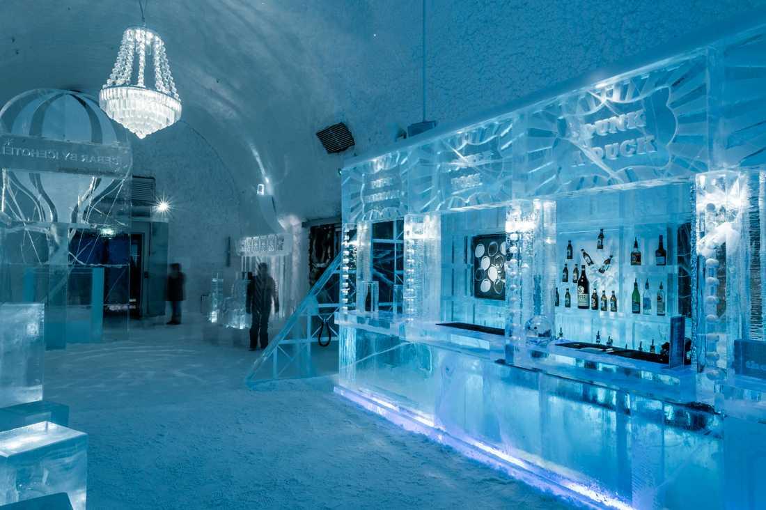 Mathieu Brison och Luc Voisin har designat årets bar.