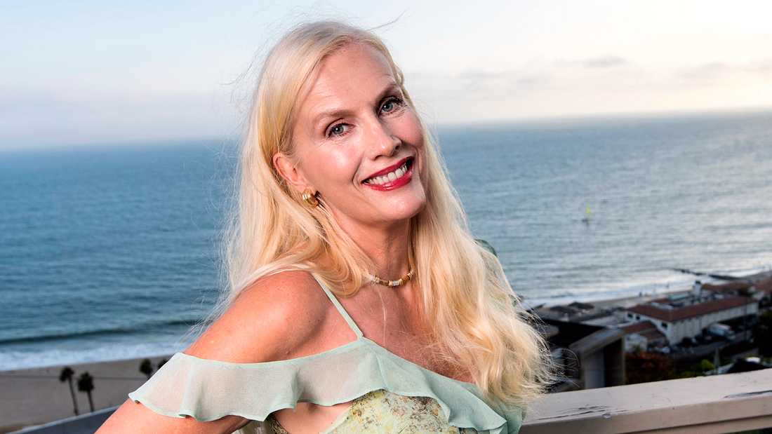 Gunilla Persson från dokusåpan Svenska Hollywoodfruar.