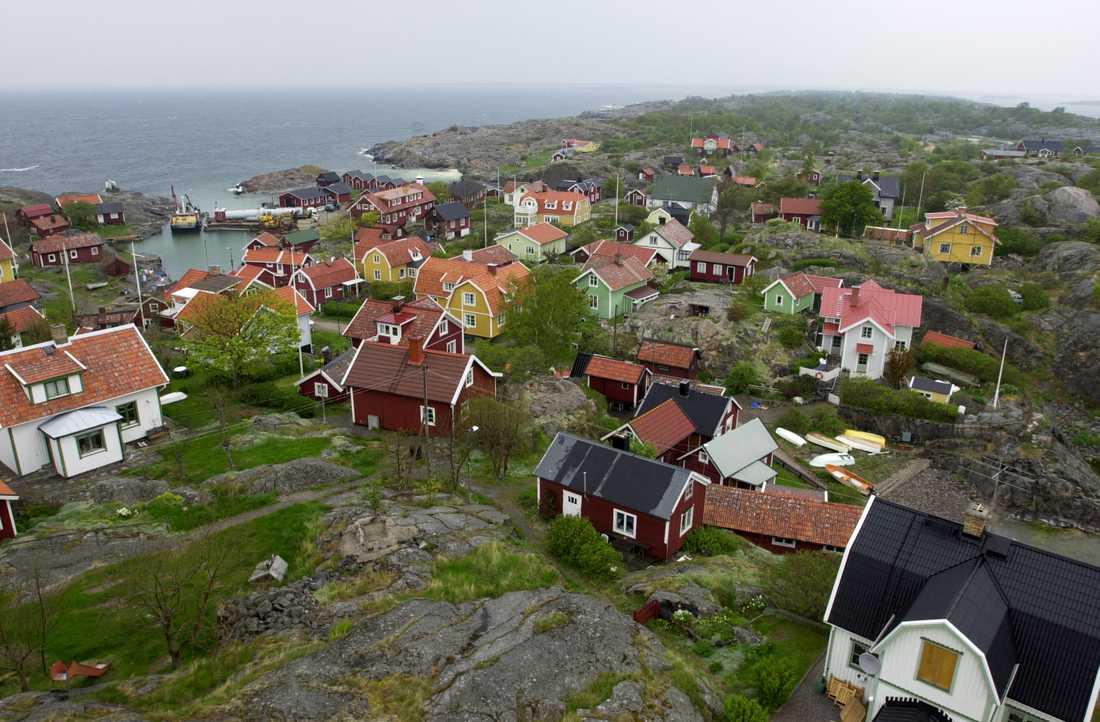 Landsort, eller Öja som ön egentligen heter, i Stockholms södra skärgård.