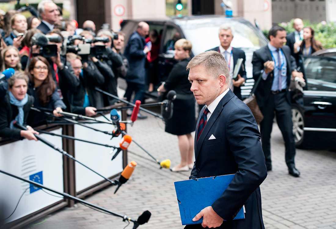 Slovakiens premiärminister Robert Fico.