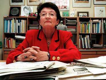 ANKLAGAD Förra EU-kommissionären Anita Gradin anklagas för att ge fördelar åt de forskare som står socialdemokratin nära.