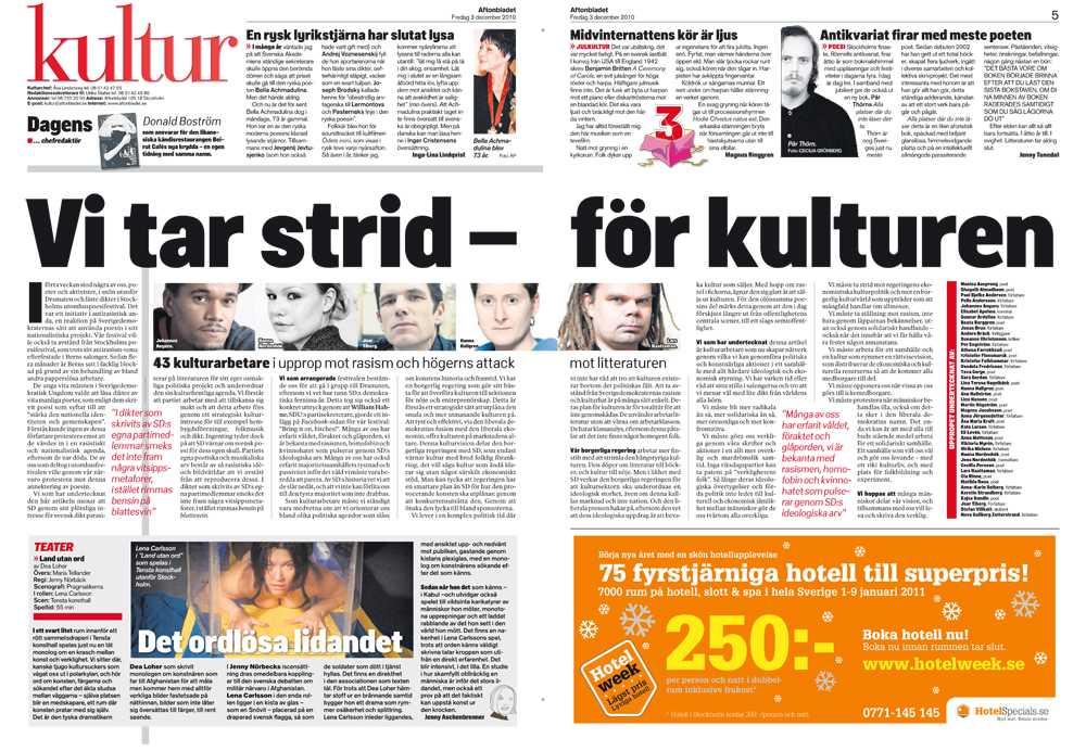 Aftonbladet 3/12.
