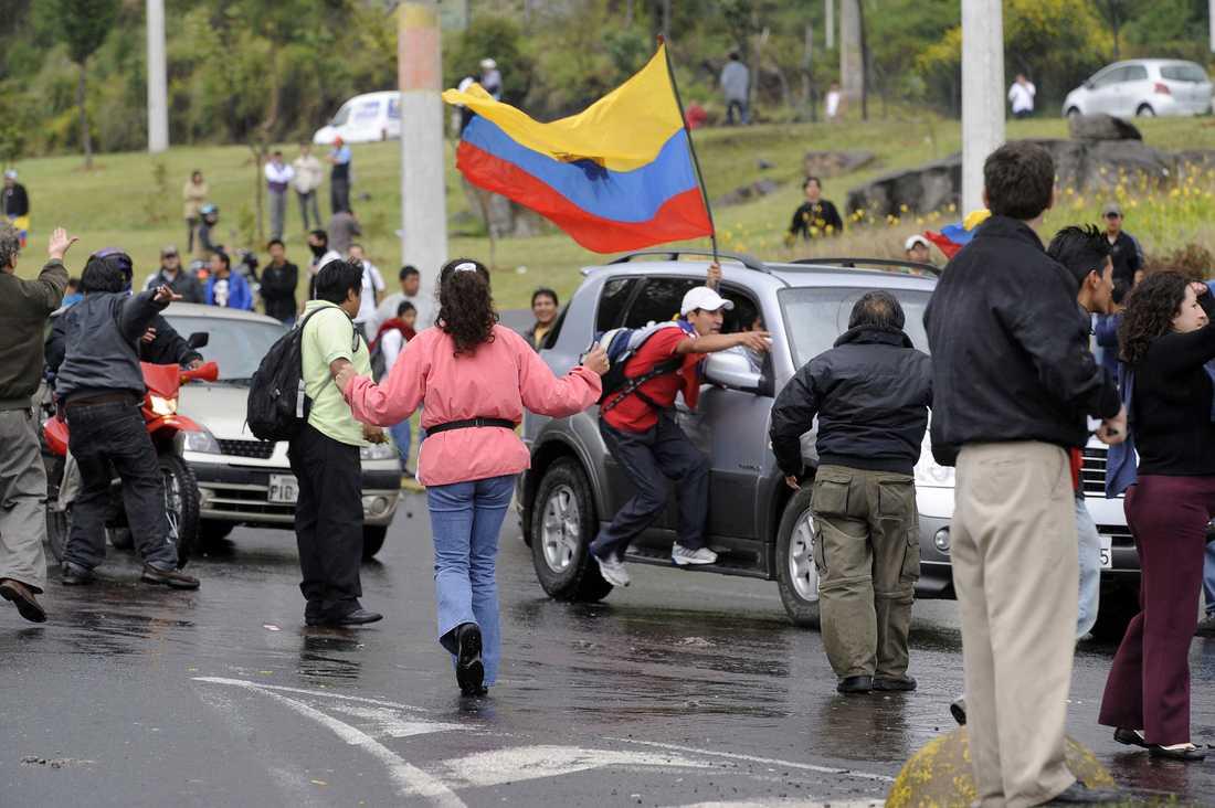 Undantagstillstånd har införts i Ecuador.