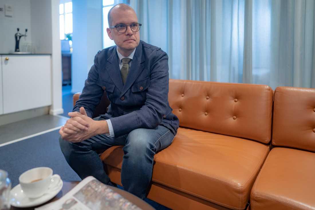 Joakim Bornold, sparekonom hos Söderberg & Partners.