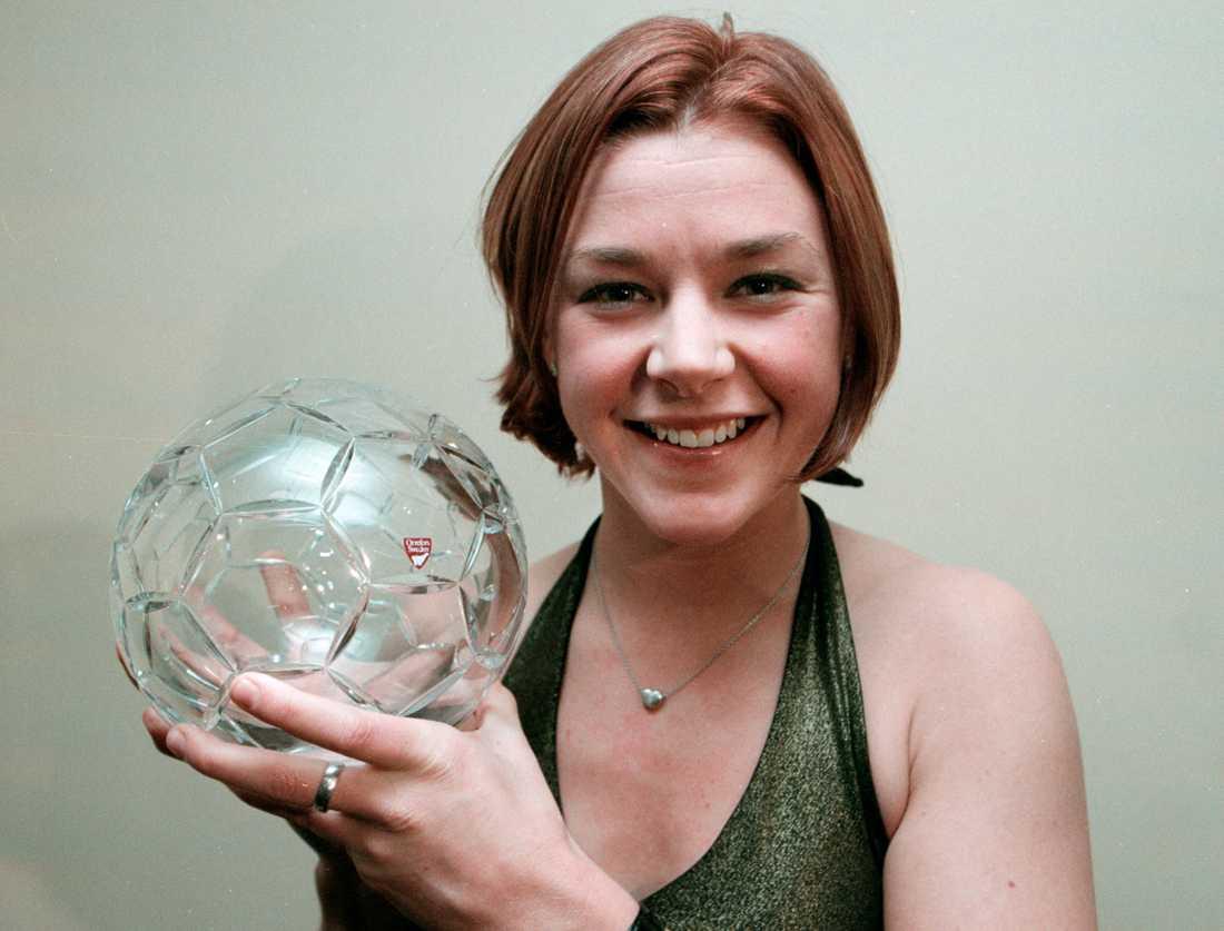 Tina Nordlund fick Diamantbollen år 2000.