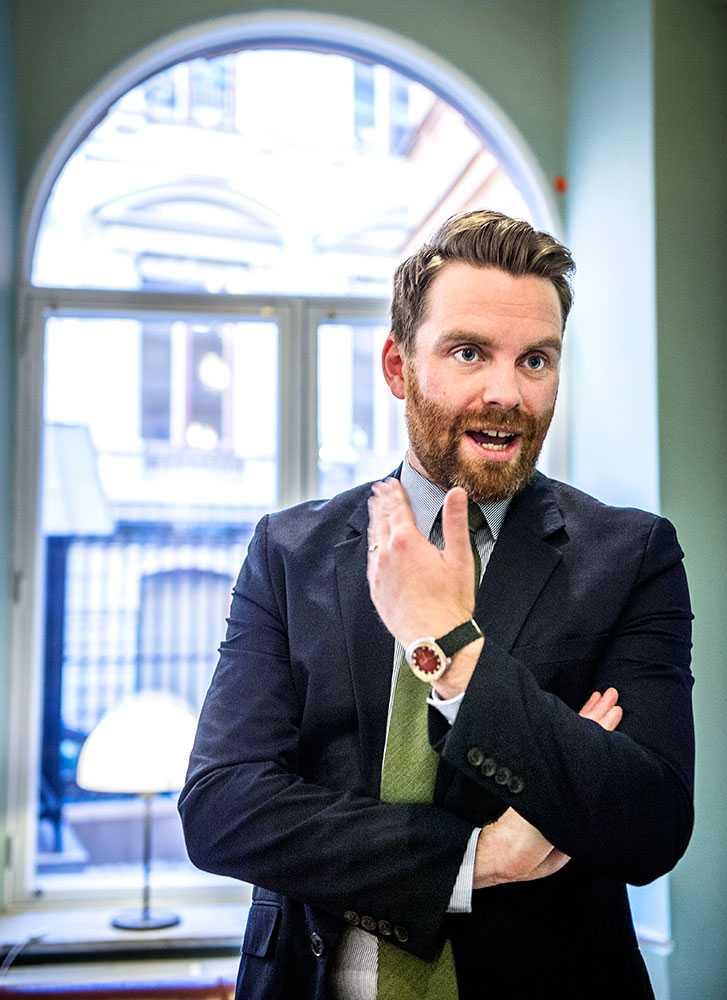 Hans Linde, Vänsterpartiets utrikespolitiske talesperson.