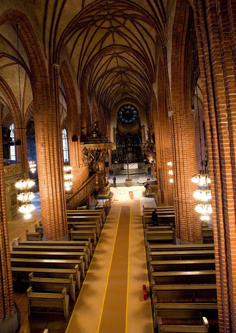 Här ska de vigas Storkyrkan i Stockholm.