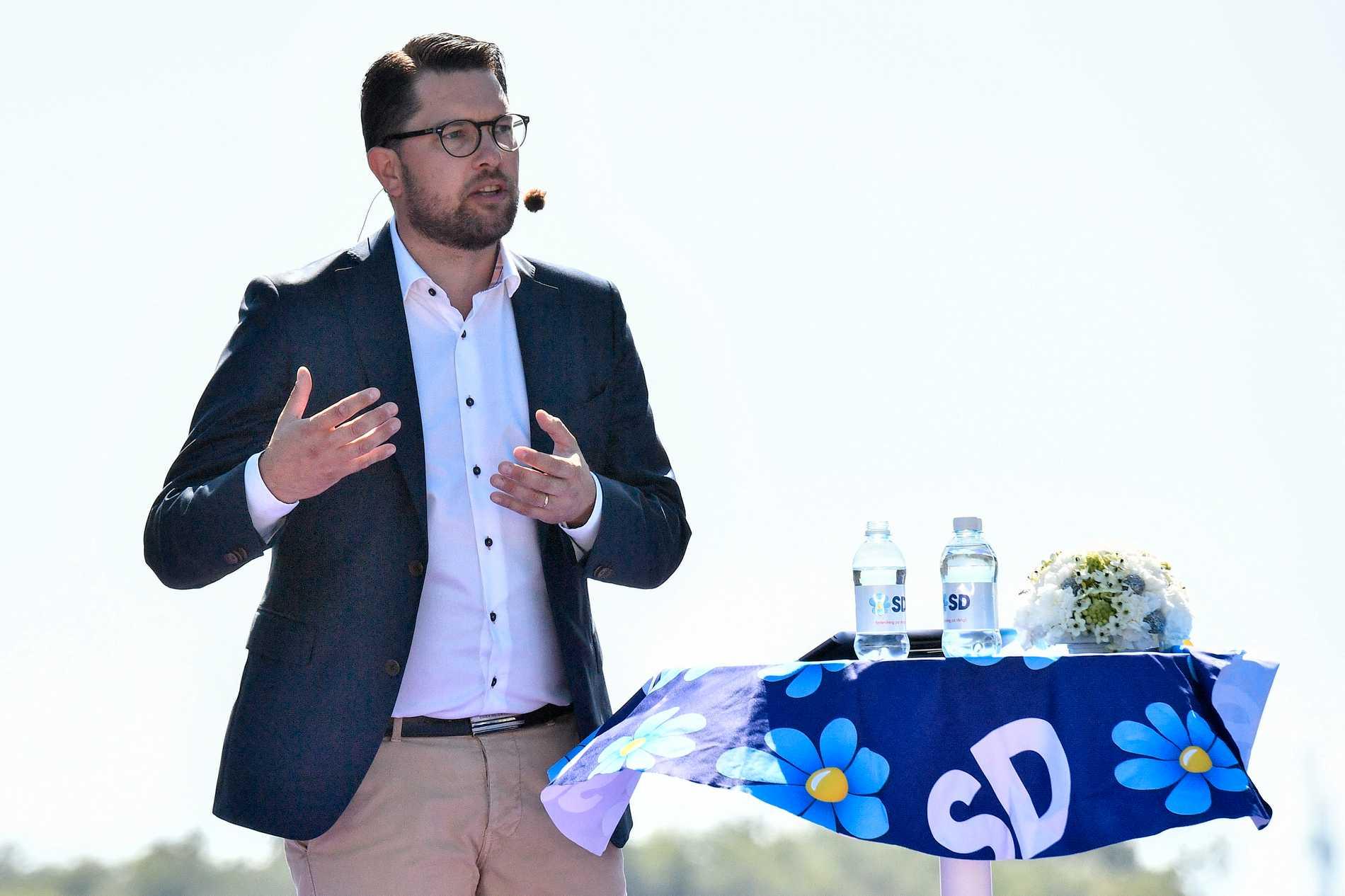 Sverigedemokraterna överger nu förslaget om frivillig inkomstdelning mellan makar. Arkivbild.