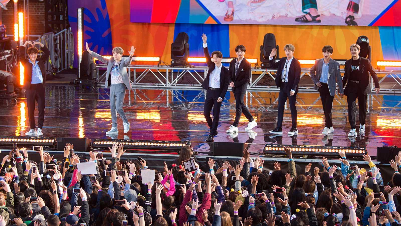 K-popbandet BTS vinner Rockbjörnen 2020 för bästa fans.
