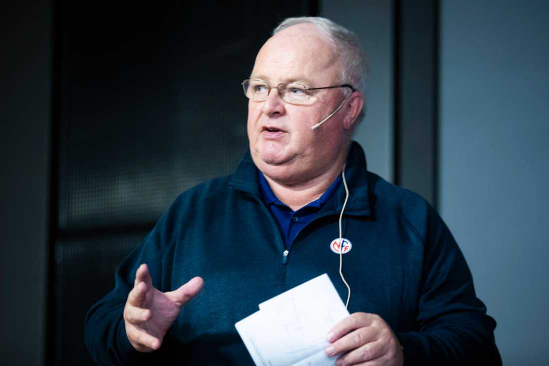 Norska fotbollspresidenten Terje Svendsen.